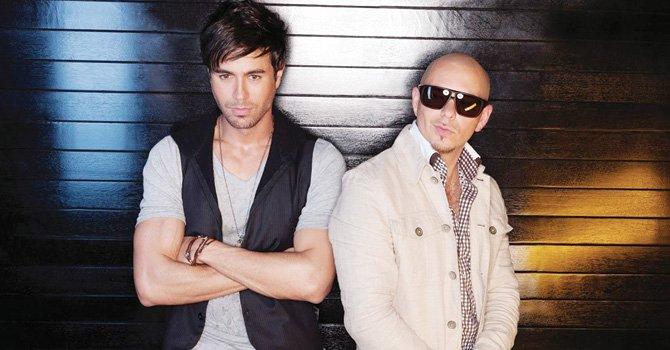 Enrique Iglesias y Pitbull llegan a DC