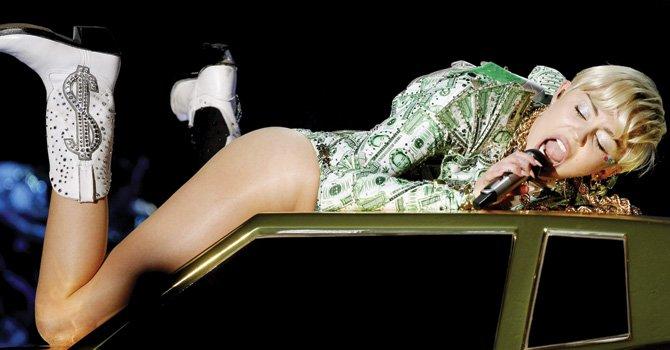 Lo que come Miley Cyrus