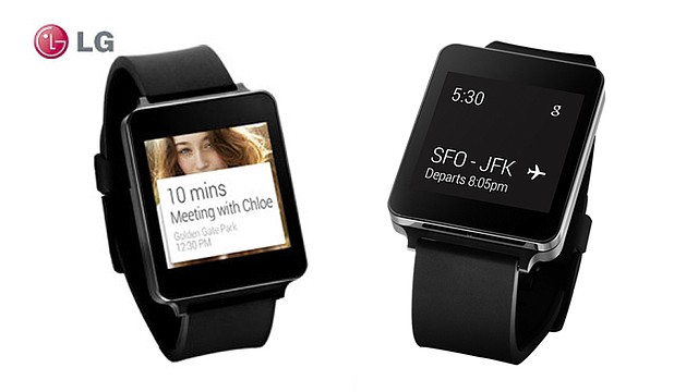 G Watch de LG, usa tecnologia Android Wear