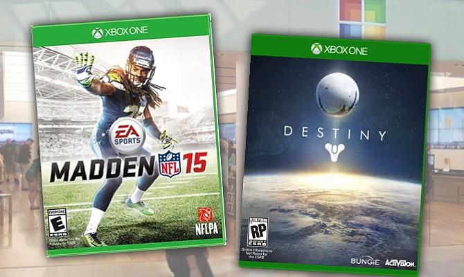 Tiendas Microsoft celebran lanzamiento de Madden NFL 15 y Destiny