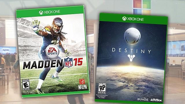 Madden y Destiny llegan esta semana a Microsoft Store