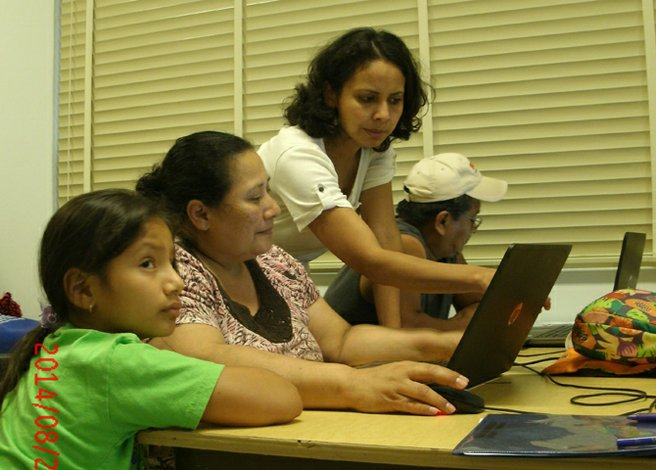 Clases para cerrar la brecha digital