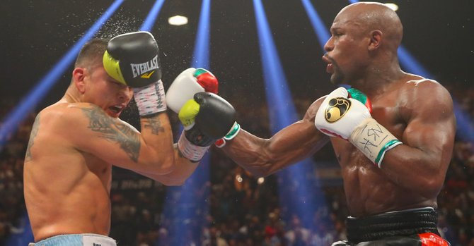 Maidana y Mayweather se juegan su honor