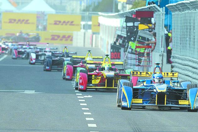 Así es la Fórmula E