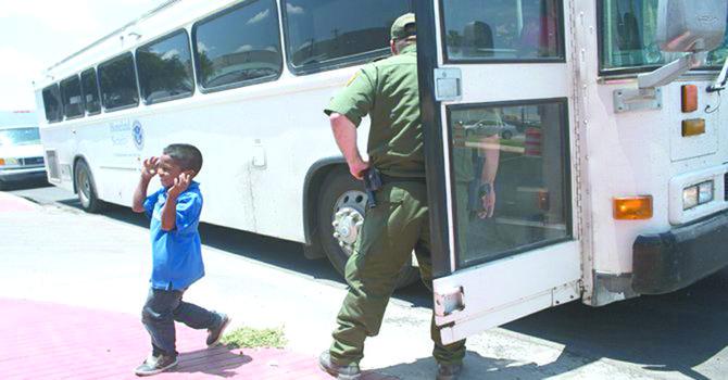 Menos niños llegan ilegalmente