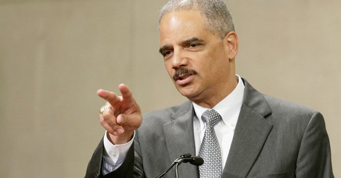 El procurador Eric Holder.