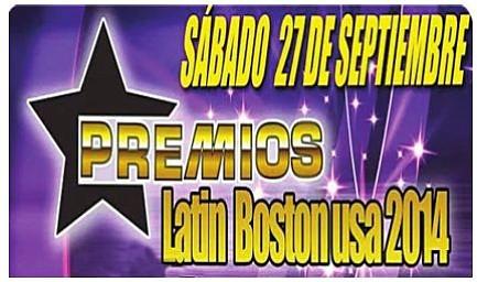 Celebración de los premios Latin Boston 2014