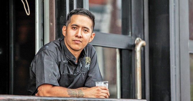 Chef  Carlos Delgado, innovación peruana