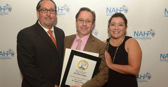 Premios nacionales para El Tiempo Latino
