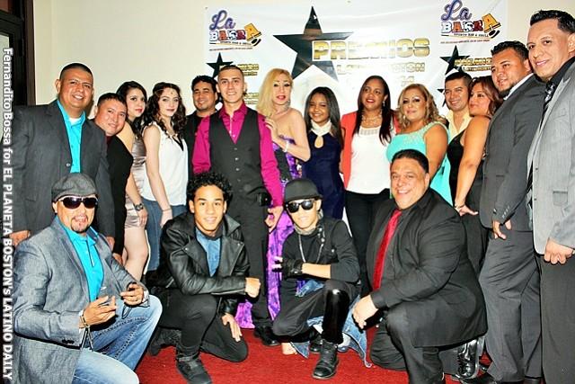 Celebración de los Premios Latin Boston USA