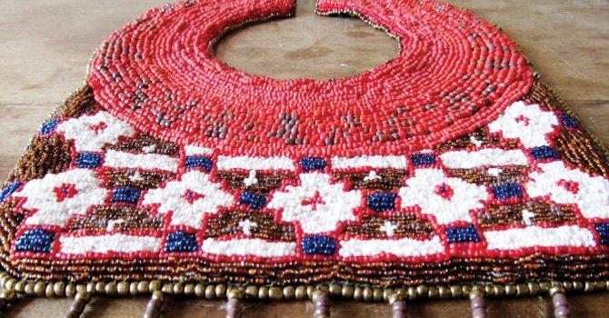 Exhibición y venta de artesanías chilenas