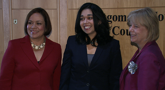 LIDERAZGO. (De izq a der.) La concejal Nancy Navarro, Natali Fani-González, de la Junta de Plantificación, y la concejal Nancy Floreen.