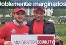 Fernanda Vallejo (Decha.) salió huyendo de la violencia y homofobia en Honduras, hoy pide asilo político en Estados Unidos, en donde también ha sido humillada por ser transgénero. /Foto Immigration Equality