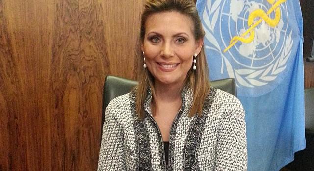 PUERTO RICO. La primera dama  Wilma Pastrana Jiménez en la OPS el 29 de septiembre.