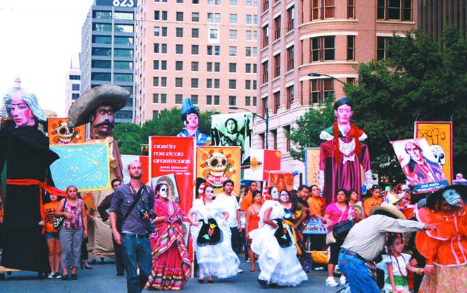 La capital celebra el Día de Muertos