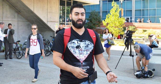 El estudiante Richard relata como ocurrieron  los hechos y dijo que hace falta mayor seguridad.