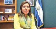 CÓNSUL. Keny López de Zuleta, el 15 de octubre, en el consulado de El Salvador.
