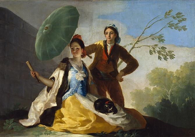 Invitan a todos los bostonianos a pintar un mural de un cuadro de Goya en Copley Square