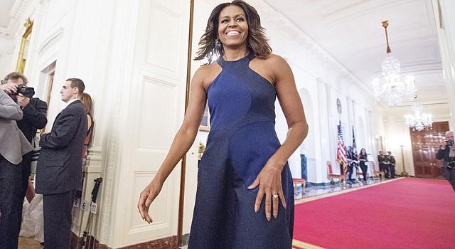 PRIMERA DAMA. Michelle Obama está por la alimentación saludable.