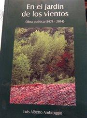 Portada de las Obras Completas de Luis Alberto Ambroggio publicadas por la Academia Norteamericana de la Lengua Española.