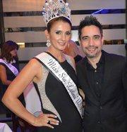 JR y la última reina de Miss Señora latina 2014