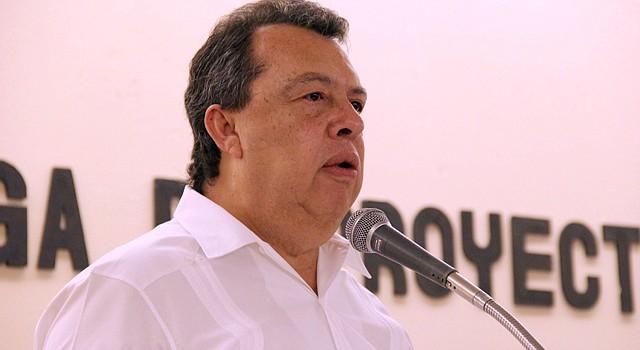 El gobernador del estado mexicano de Guerrero, Ángel Aguirre.