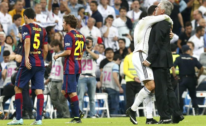 El Real Madrid tritura El Clásico