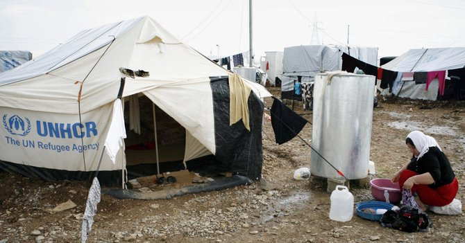 El drama de los refugiados sirios