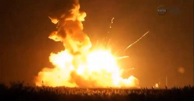 Explotó un cohete de la NASA en Virginia