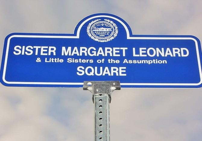 ROXBURY: Dedicaron calle a la hermana Margaret, activista comunitaria y directora de Project Hope