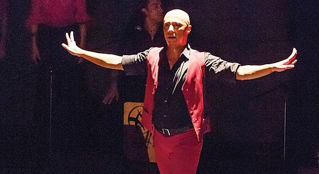 BAILAOR. Edwin Aparicio estrena obra en base a los 10 años en el festival.