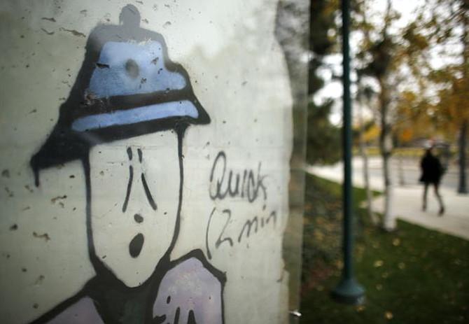 En Boston se pueden contemplar dos pedazos del Muro de Berlín