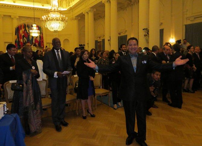 Un gran número de personas asistió al homenaje a la música peruana en la OEA.