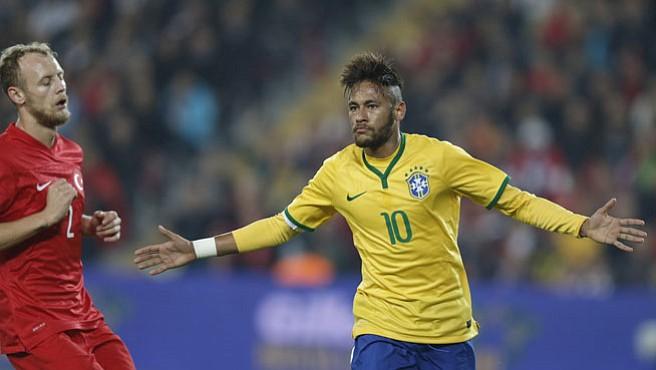 Brasil derrotó con autoridad a Turquía