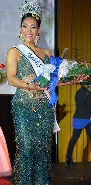 Luy Cortes, Miss Señora Latina 2014.