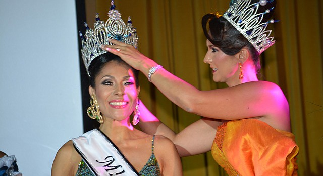 Luy Cortes es coronada Miss Señora Latina 2014 en Washington, DC.