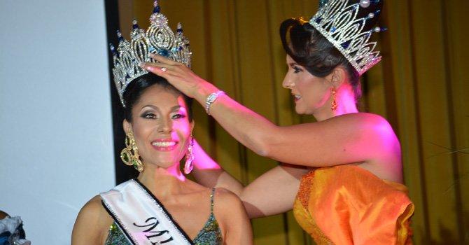 Luy Cortes fue coronada Miss Señora Latina 2014 en Washington