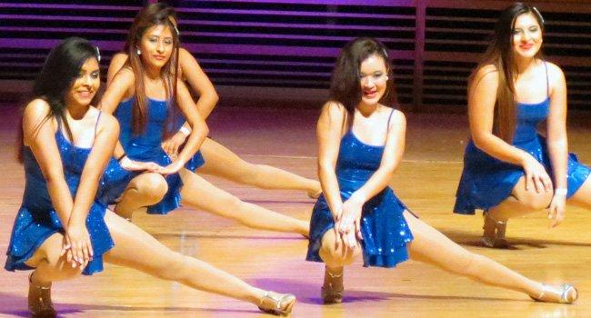 Estudiantes de MCPS bailan latino en Strathmore