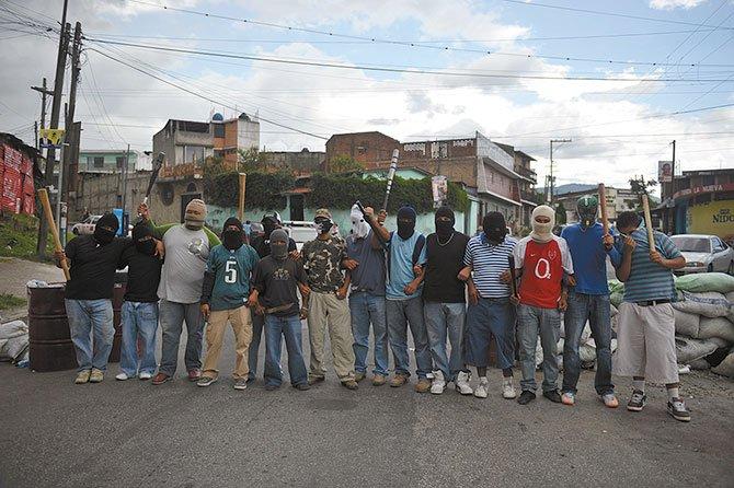 Más de 70 pandillas en el país