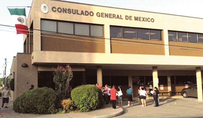 Consulado mexicano da apoyo migratorio
