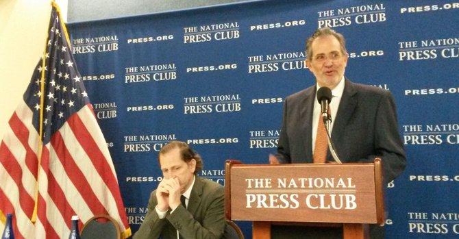 Claman en DC por libertad de prensa