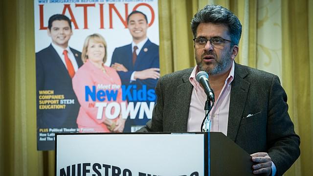 Alfredo Estrada, presidente de Nuestro Futuro y Publisher y CEO de LATINO Magazine