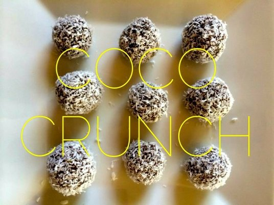 Prueba estos riquisimos crujiente de coco