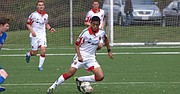 LOCAL. Antonio Bustamante juega durante el verano en la Sub-23 del DC United y desde 2015 con College of William & Mary.
