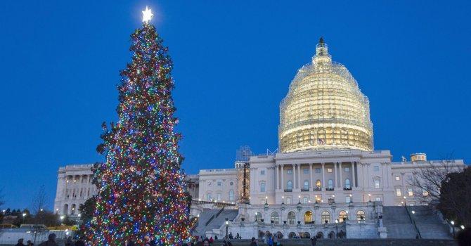 Navidad en Washington y sus alrededores