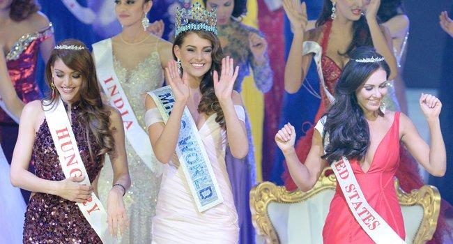 Miss Mundo 2014 con conciencia social