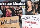 Houston se ha sumado a las protestas registradas a nivel nacional pidiendo un alto a la violencia en México.