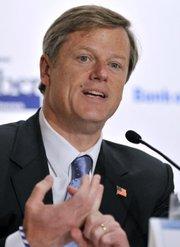 El republicano Charlie Baker se convirtió en el nuevo gobernador.