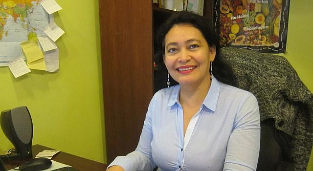 ÍMPETU. La salvadoreña Rosa Rivas está lista para trabajar por su comunidad en el vecindario Mount Pleasant.