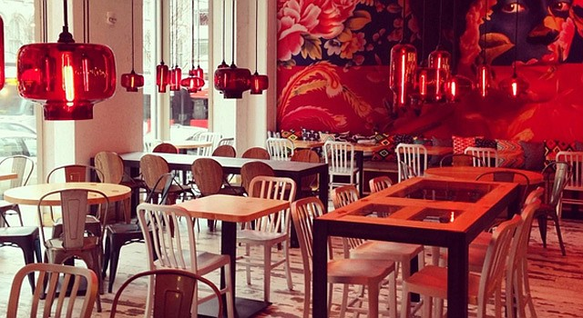 A view of the dining room of China Chilcano. , 418 Seventh St. NW (Metro: Gallery Place-Chinatown)
